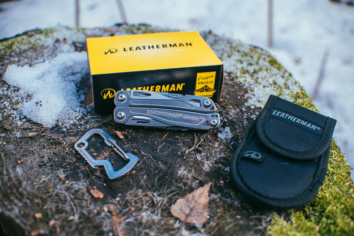 Комплектация Leatherman Sidekick