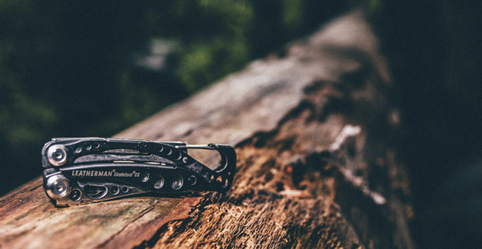 Стильный дизайн Letherman Skeletool